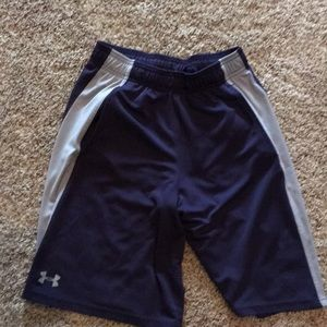 Men's under Armour mesh shorts size small